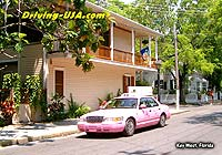 pink taxi Key West