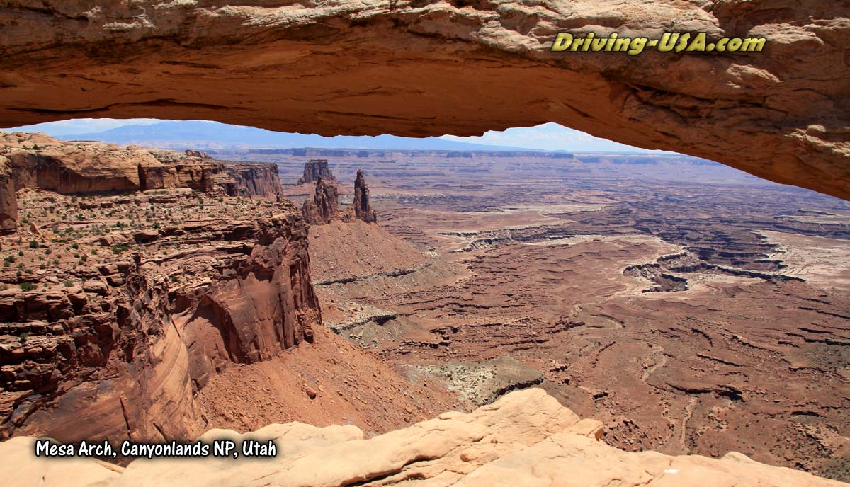 Mesa Arch at Canyonlands National Park, Utah